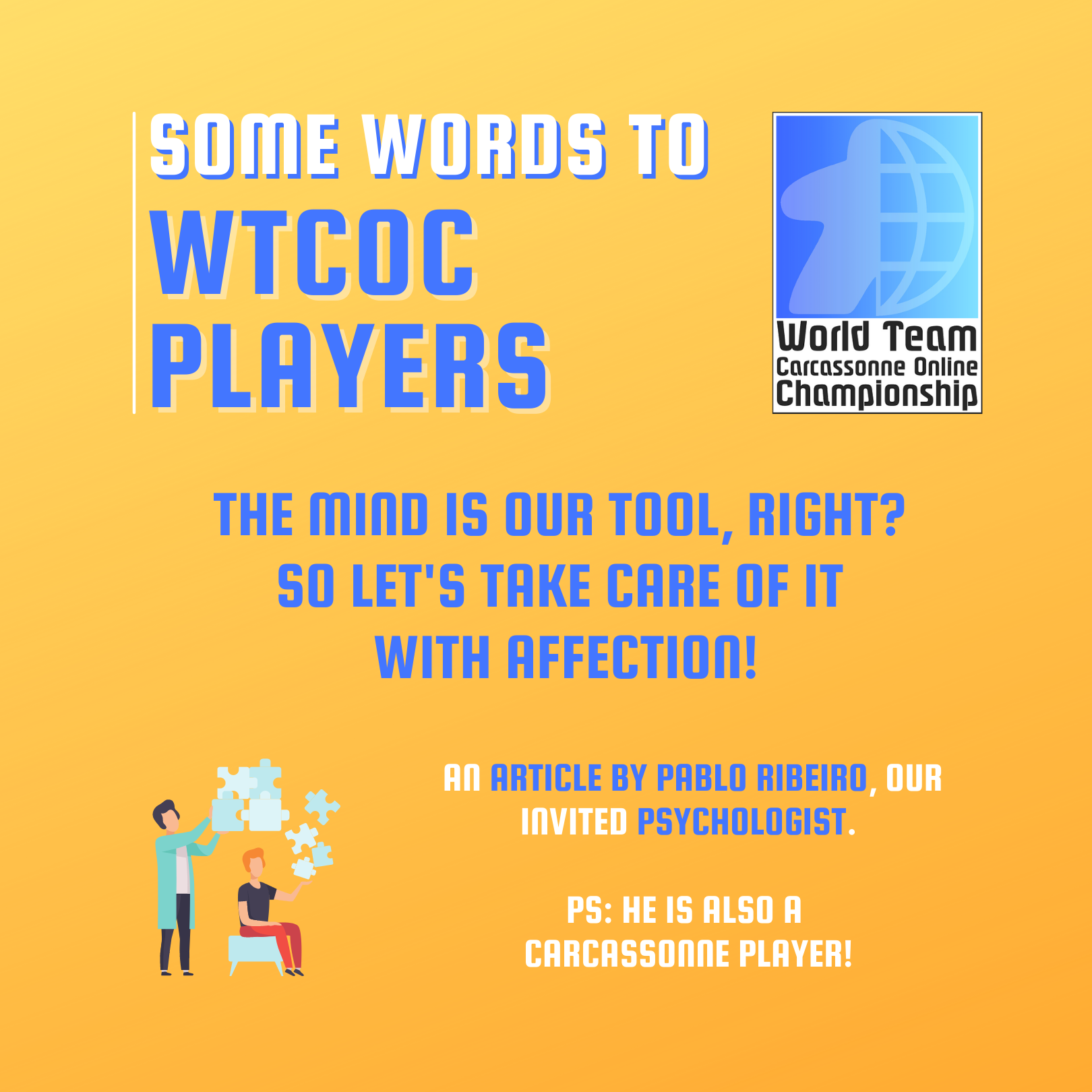WORDS WTCOC PLAYERS