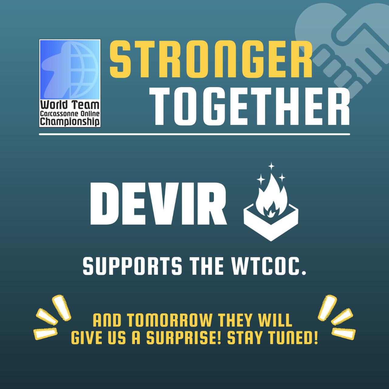 Devir Stronger Together